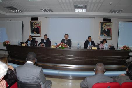 Presentation of the national report on the Millennium Development Goals 2009
