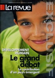 """""""La Revue"""" publie un supplément sur le Développement Humain au Maroc"""