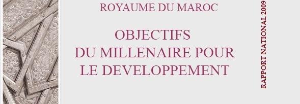 Principaux résultats du rapport national sur les objectifs du millénaire pour le développement 2009