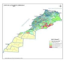 Carte de la pauvreté 2007