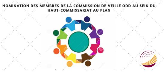 Nomination des membres de la Commission de Veille ODD au sein du Haut-Commissariat au Plan