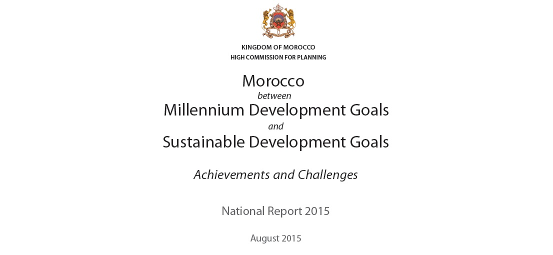 Morocco between MDGs and SDGs, achievements and challenges.